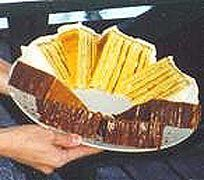 Smith Island Cake - Maryland State Cake - many thin cake layers with chocolate in between