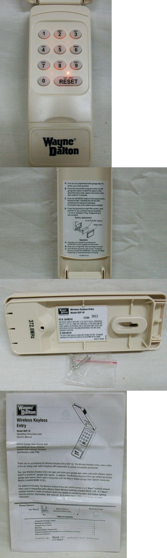 Garage Door Remotes 85899: Nib Wayne Dalton Model Kep-Iv Wireless Keyless Entry Keypad (Part No.3334642) -> BUY IT NOW ONLY: $55.98 on eBay!
