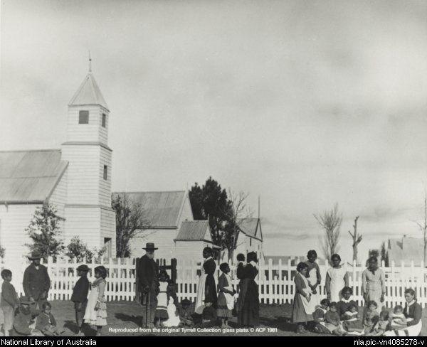 Aboriginal Mission, Sydney, N.S.W. c 1890