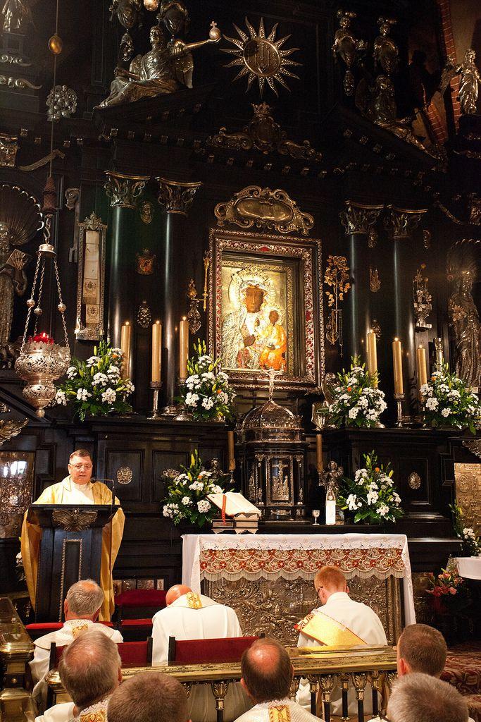 Czarna Madonna or Matka Boska Częstochowska.