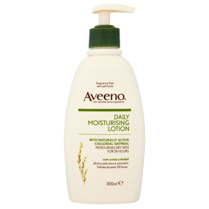 Moisturizer: Aveeno  Daily Moisturizing Lotion: rated 4.3 out of 5 on MakeupAlley.  See 697 member reviews, product ingredients and photos.