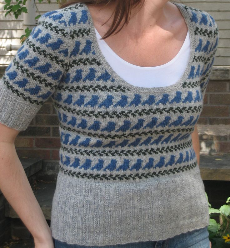 Ravelry: Project Gallery for Little Birds pattern by Ysolda Teague