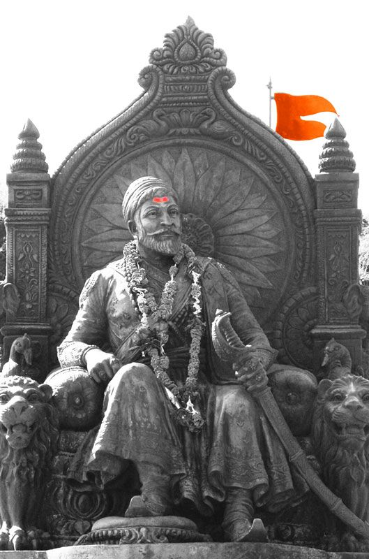 Chatrapati Shivaji (1630-1680) founded the Hindu kingdom in the Deccan against all odds , fighting against the mighty Mughals.He inspired and united the common man to fight against the tyranny of Mughal ruler Aurangjeb, by inculcating a sense of national pride in them.     He clearly outstands all the rulers and generals of India by the exemplary life he lived and is thus respected by the entire cross section of Indians. Shivaji's military skills could be compared to those of Napolean.