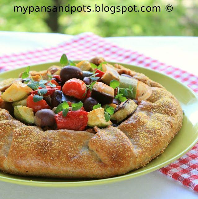 Mediterranean Vegetable Galette | Summer Squash Combination Recipes ...