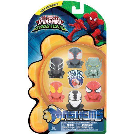 Mash'ems Spider-Man Sinister 6 Value Pack