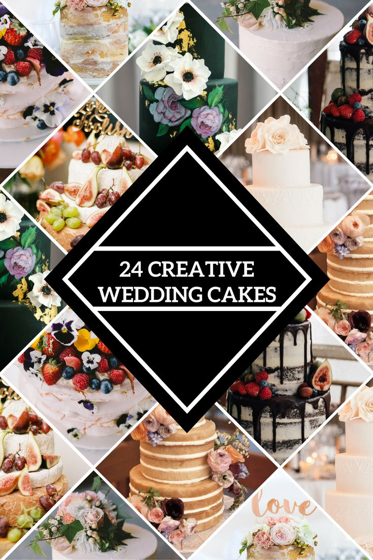 Creative wedding cake ideas | The Wedding Playbook