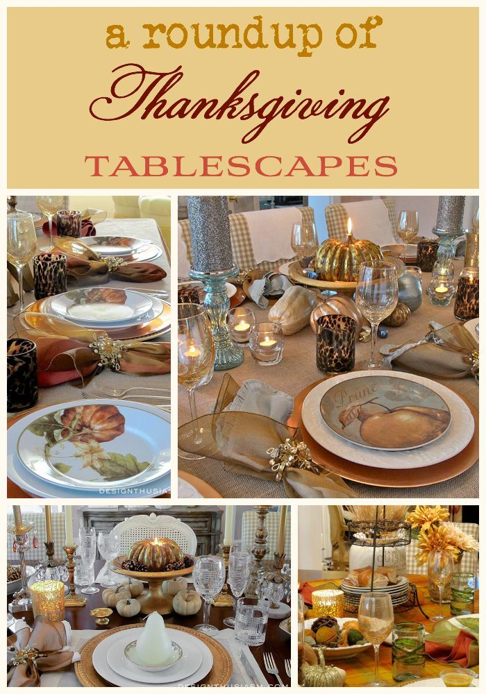 Thanksgiving Tablescapes Easy Diy Dinner Table And