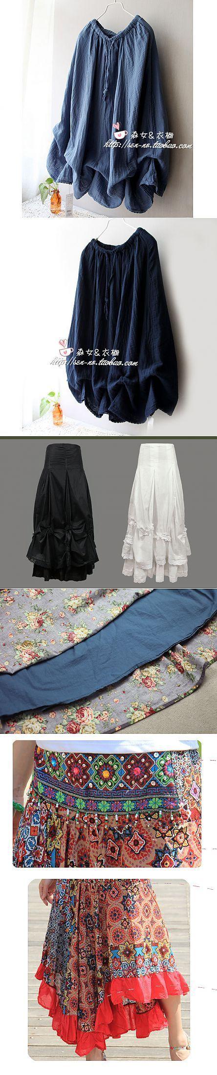 BOHO. Las faldas. Los detalles sabrosos. MR.MS.