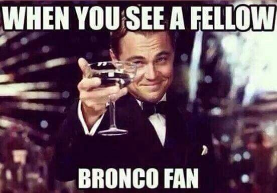 For all of my Bronco followers! It's almost that time again ;)