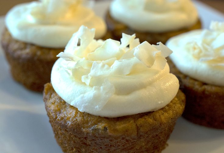 Spiced Carrot Cupcakes w/Cream Cheese Frosting