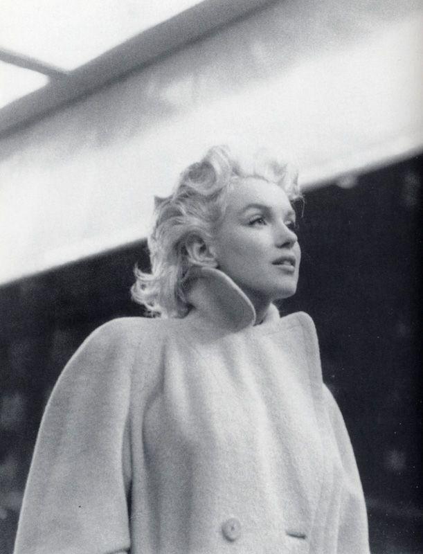 Marilyn Monroe in New York, 1955. Photo: Ed Feingersh.
