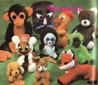 Czechoslovakian toys 70s http://socikstyle.blogspot.cz/ SOCÍK STYLE-Ostalgia: PLYŠOVÉ HRAČKY ČSSR