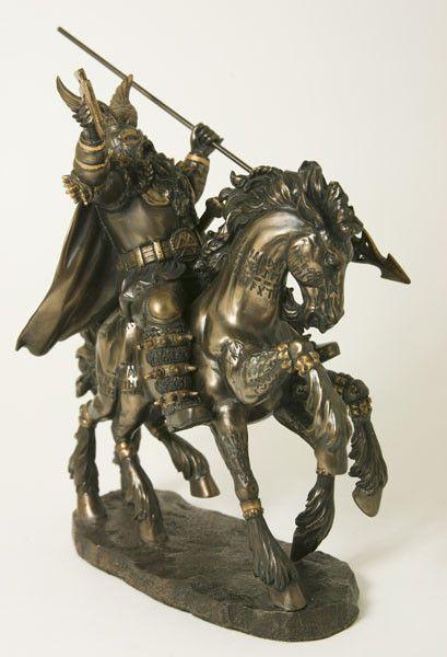 Odin of Wodan, oppergod<br /> god van de dood bij Crystal Temptation in Venlo