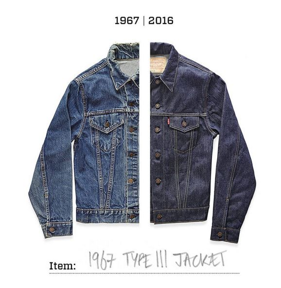 Stitch for stitch. Each season, our Levi's Vintage Clothing designers explore the Levi's Archives and bring designs back through style-forward reproductions. The Type III Trucker is as relevant, purpose-built and style-forward now as it was in 1967.