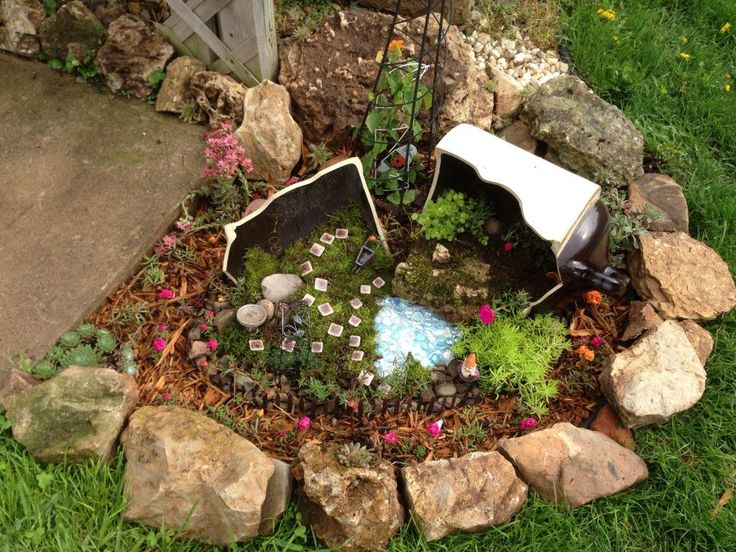 Gnome Garden Ideas creating a gnome garden Find This Pin And More On Fairygnome Garden Ideas