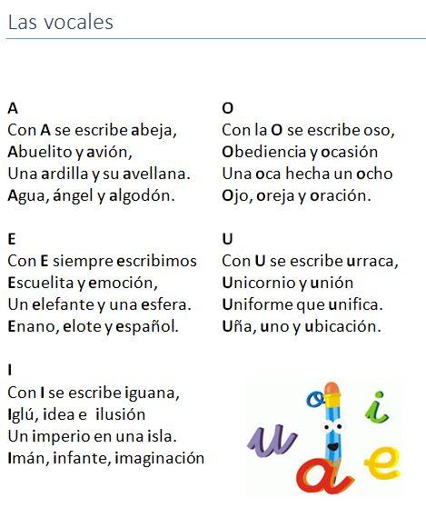 Poema infantil con aliteración. Bilingual Education