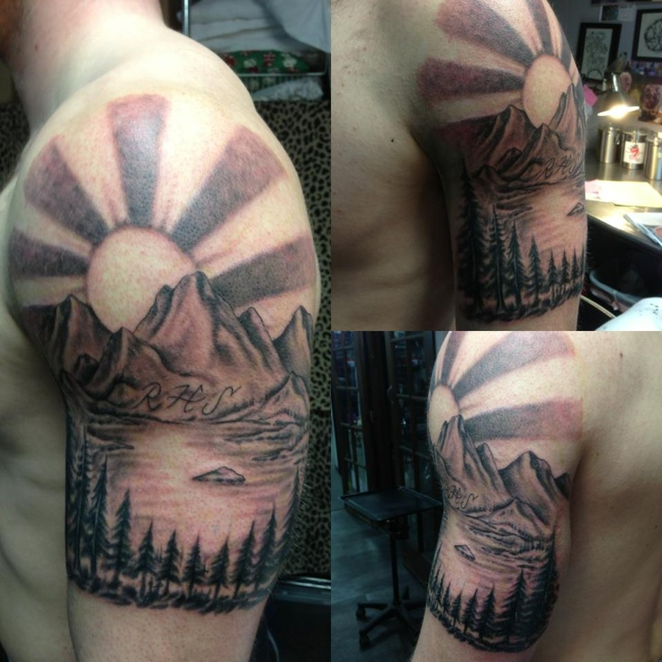 90 best images about tattoo on pinterest tattoos for men for Blue ridge mountain tattoo