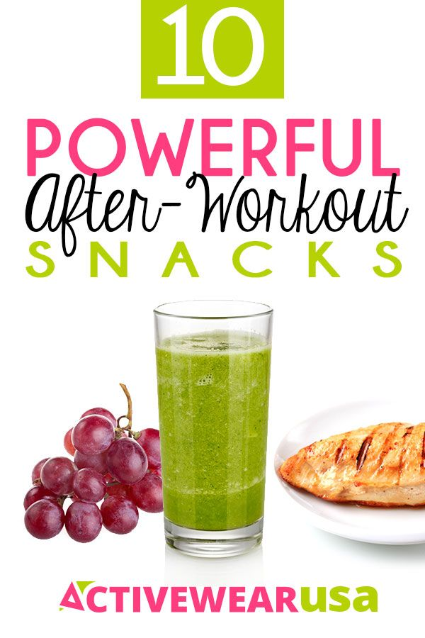 10 Powerful After Workout Snacks - Protein is the building block of muscles and plays a critical role in recovery from vigorous exercise. Try one of these healthy protein-rich snacks after your tough workouts.