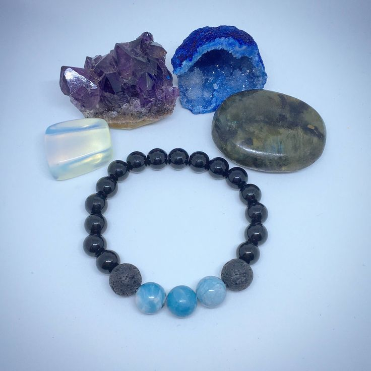 A personal favorite from my Etsy shop https://www.etsy.com/ca/listing/571704390/larimar-diffuser-bracelet-lava-bead