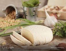 Домашний сыр «Тофу». Ингредиенты: вода, лимонная кислота, соя