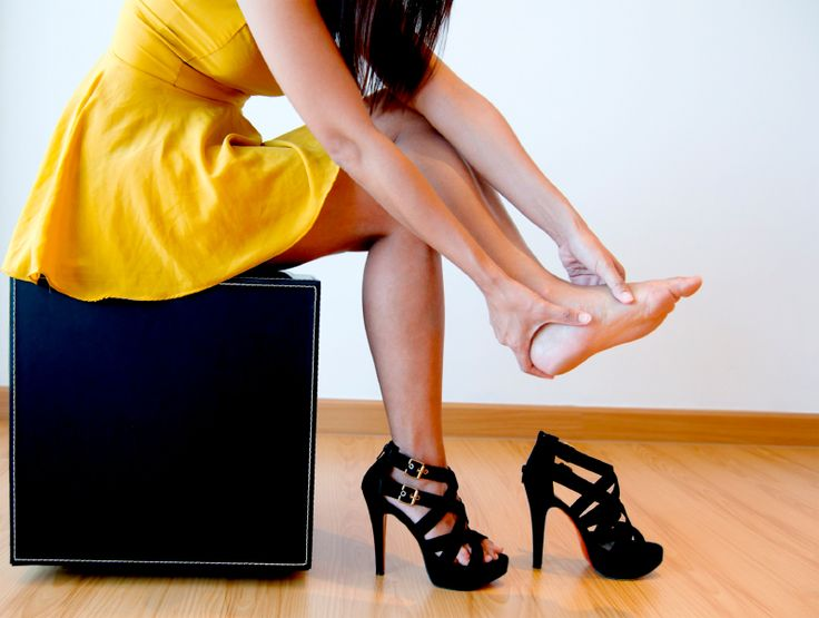 Work and play can cause havoc on your feet!