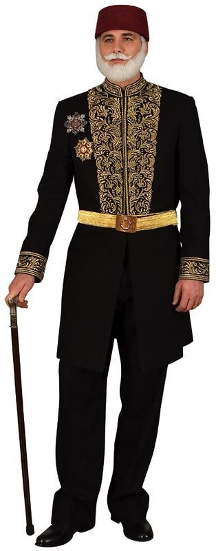 Ceremonial costume of a high state official.  Late-Ottoman, 2nd half of 19th century.