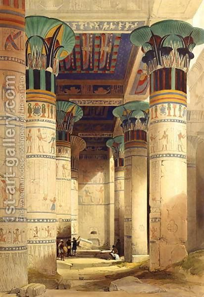 Ancient Egypt- Another example of the ancient Egyptian Columns but with added color.