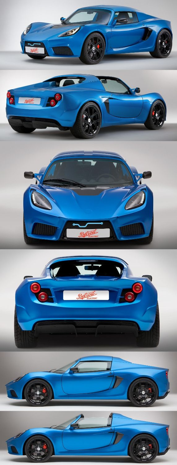 Detroit Electric SP:01 2-Seat Electric Sports Car is Unveiled in Detroit