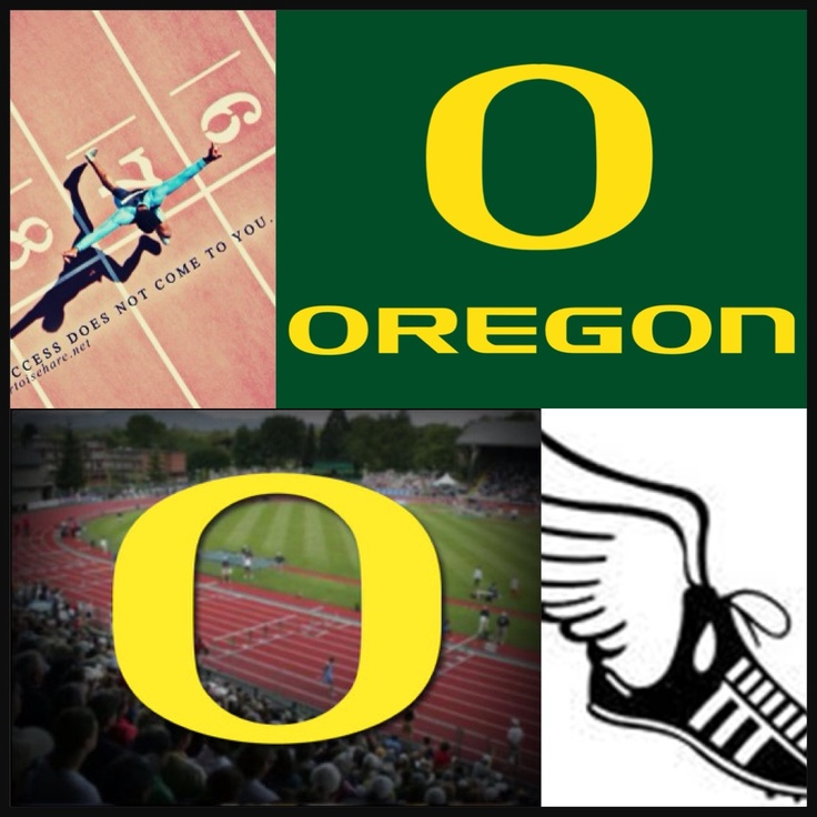 Oregon track and field!!!!