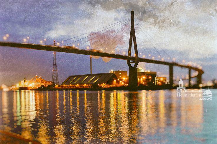 Hamburg, Köhlbrandbrücke