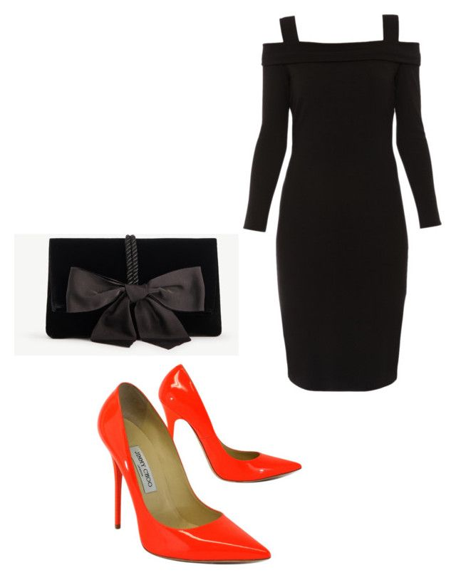 """""""Untitled #123"""" by thominewtandmyoc ❤ liked on Polyvore featuring Jimmy Choo, Elie Tahari and Ann Taylor"""