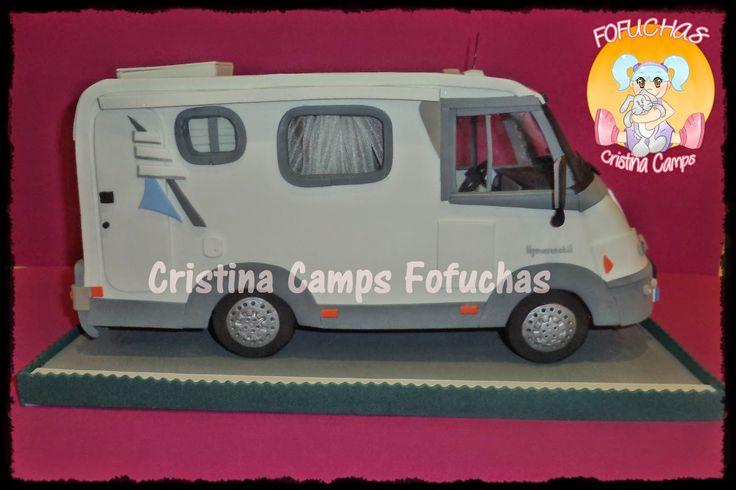 Cristina Camps Fofuchas: Fofucha Autocaravana