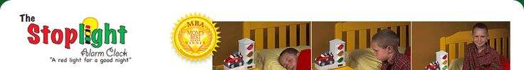 Stoplight Alarm Clock for Kids and Toddlers