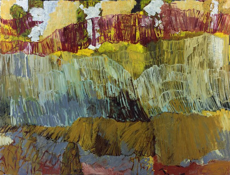 Per Kirkeby - Untitled, 1998 Oil on canvas 200 x 260 cm