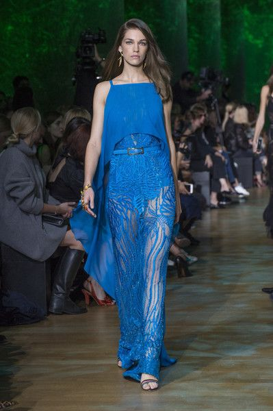 Elie Saab, Spring 2018 - The Most Beautiful Runway Gowns at Paris Fashion Week - Photos