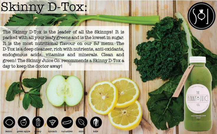 Skinny Juice Detox & Revive Health, Nutrition, Detox
