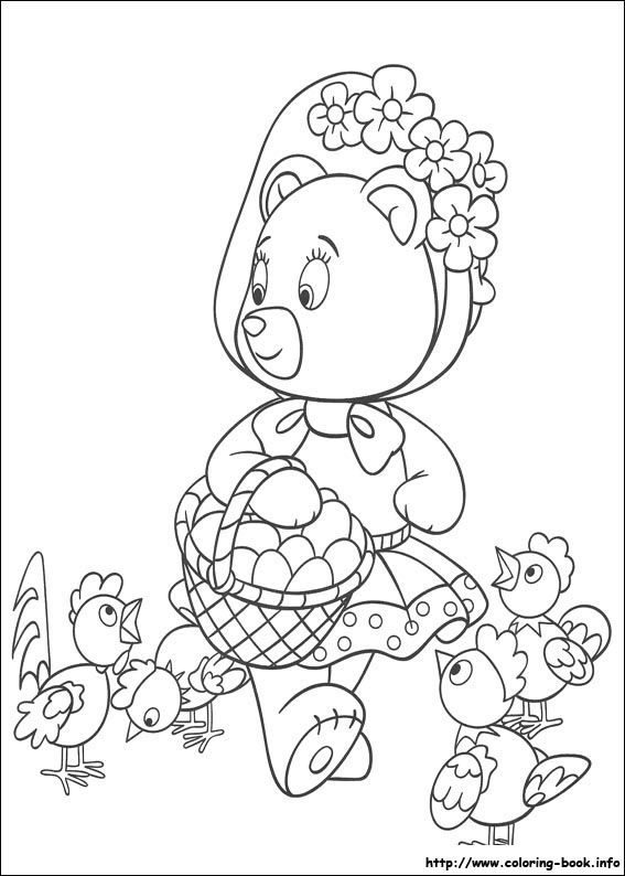 47 Best Noddy Colouring Pages Images On Pinterest