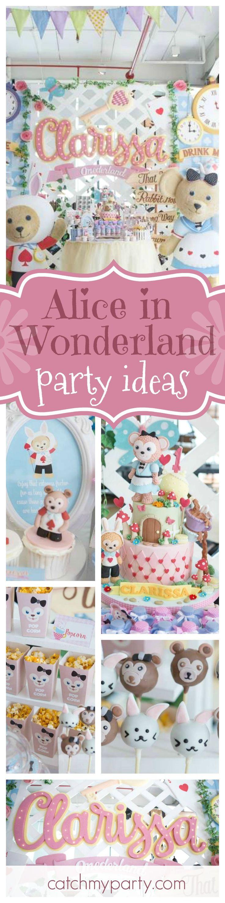 Alice in Wonderland Birthday Its duffy