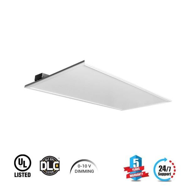 Led Panel Light 2x4 72w 4000k Dimmable 8280lm Is Inexpensive And Super Long Lasting It Doesn T Need The Replacement Led Panel Light Led Panel Led Flood Lights
