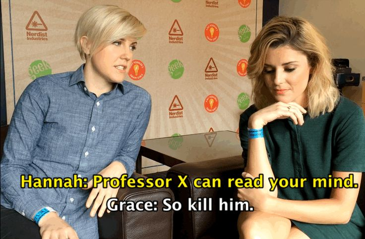 "Grace Helbig And Hannah Hart Play Superhero ""F"