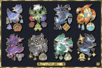 Pokémon Gym Badge Collection From Each Region