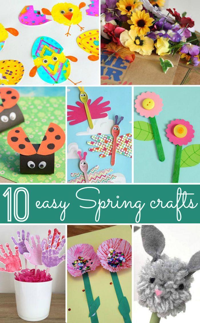 Spring Craft Ideas Toddler Life Pinterest Craft Craft