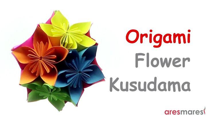 Origami Flower Kusudama (intermediate - modular) Require patience but worth the effort!!! #origami #unitorigami #howtomake #handmade #colorful #origamiart #diy #doityourself #paper #papercraft #handcraft #paperfolding #paperfold #paperart #papiroflexia #origamifolding #instaorigami #interior #instapaper #craft #crafts #creative #hobby #оригами #折り紙 #ユニット折り紙 #ハンドメイド #カラフル #종이접기 #اوريغامي