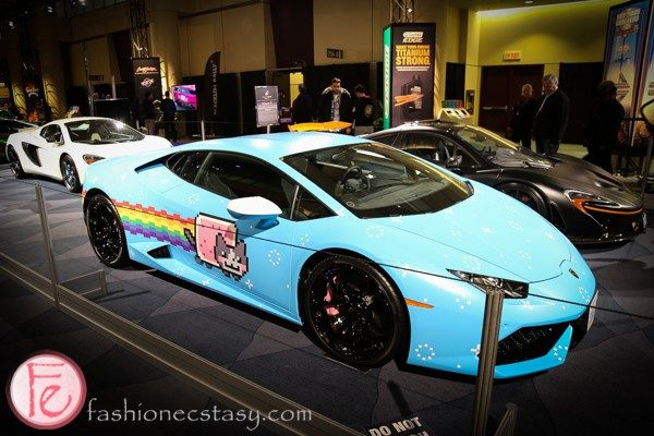 Canadian International Auto Show: http://fashionecstasy.com/2016-canadian-international-auto-show-february-12-21-2016/ #CIAS2016 #autoshow #CIAS #nyanborghini #purracan #hurracan #lambo #Lamborghini  #cars