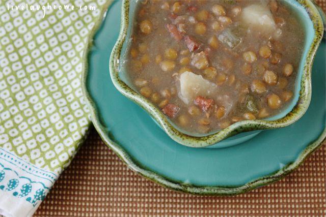 Hearty Lentil Soup | Recipe | Lentil Soup, Lentils and Soups