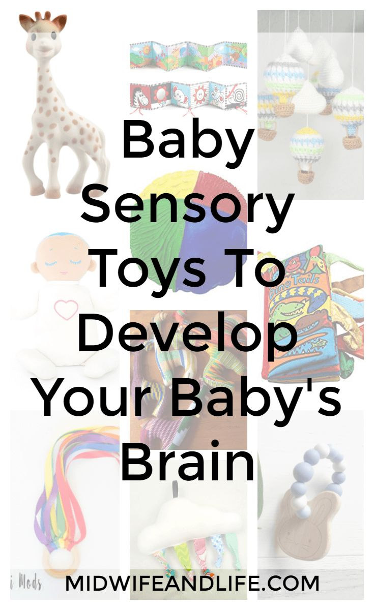How sensory toys help develop and enhance your baby's brain, plus the best toys for sensory development to enhance your baby's intelligence