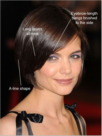 Katie Holmes Hairstyles Gorgeous 41 Best Katie Holmes Bob Haircuts Images On Pinterest  Short