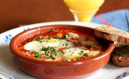 Αυγά φούρνου