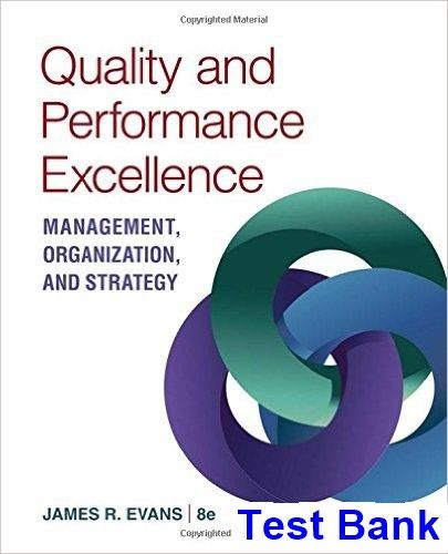 10 best our psychology titles images on pinterest psicologia test bank for quality and performance excellence 8th edition by evans fandeluxe Gallery