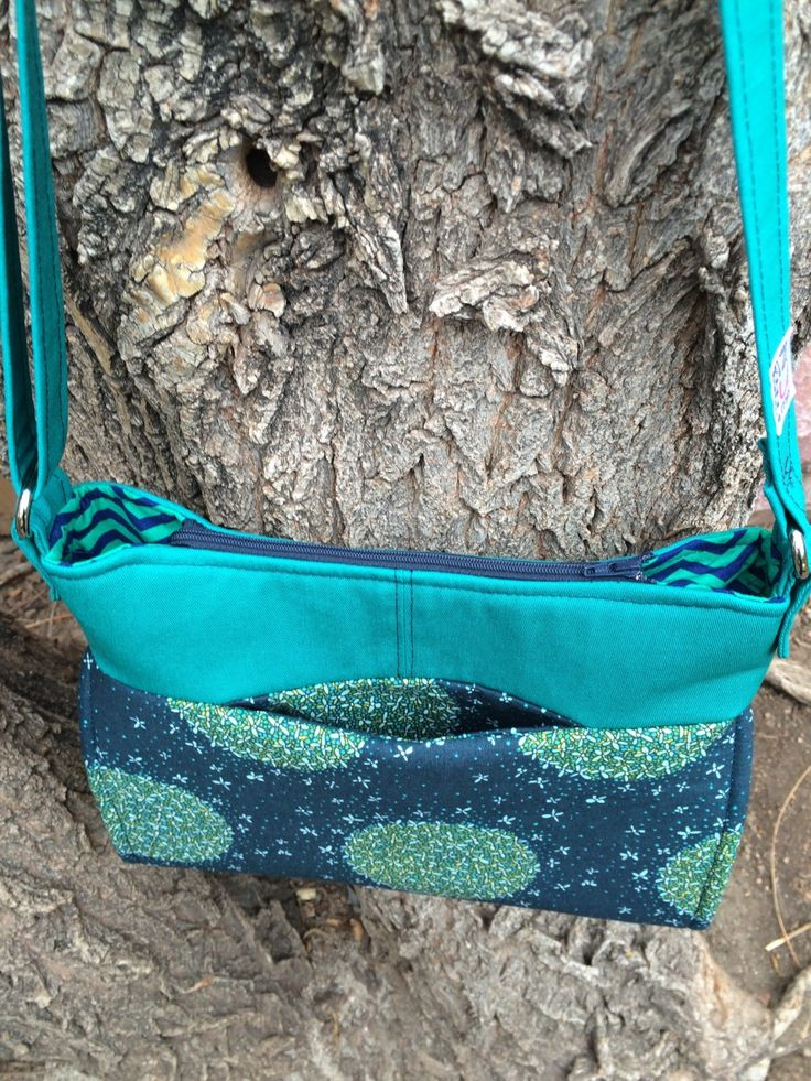 Add a Hidden Pocket to the exterior of your GABBY bag! Pattern by Emmaline Bags for the Bag of the Month Club.
